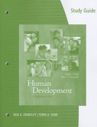 Study Guide For Human Development by Robert V Kail