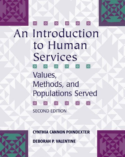 introduction to human services Hus1001 - introduction to human services (aa) credits/clock hours: 3 credits (3 lecture hours) description: this course provides an introduction and.