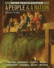 People And A Nation Volume 1 Brief Edition