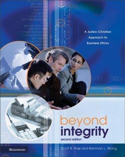 Beyond Integrity