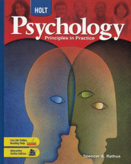 Psychology Grades 9-12 Principles In Practice