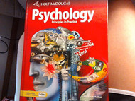 Psychology Principles In Practice by Spencer Rathus