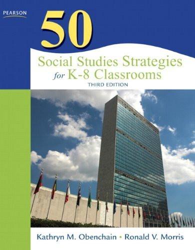 50 Social Studies Strategies For K-8 Classrooms