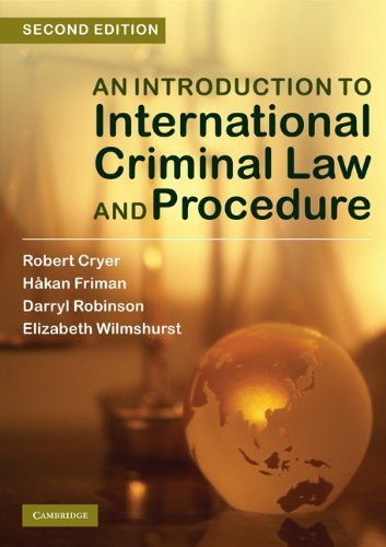 intro to criminal law Criminal law, as distinguished from civil law, is a system of laws concerned with  punishment of individuals who commit crimes thus, where in a civil case two.