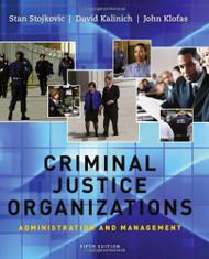 Criminal Justice Organizations