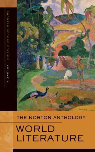 Norton Anthology Of World Literature Volume 2