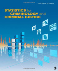 Statistics for Criminology and Criminal Justice
