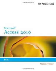 New Perspectives On Microsoft Access 2010 Brief