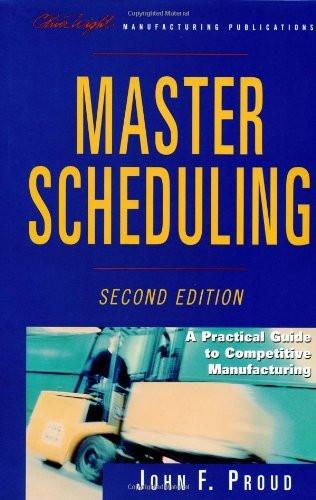 Master Scheduling