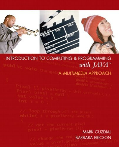 Introduction To Computing And Programming With Java
