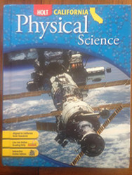 Science & Technology California Student Edition Grade 8 Physical Science by Rinehart And Holt