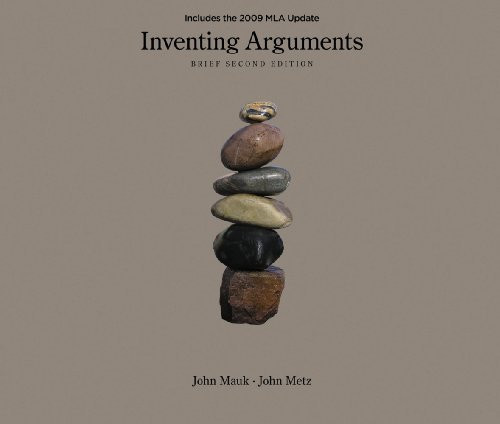 Inventing Arguments Brief Edition