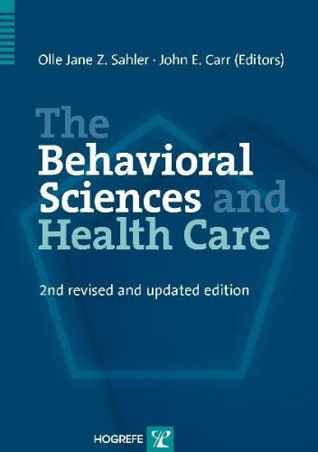 Behavioral Sciences And Health Care