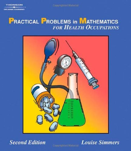 Practical Problems In Mathematics Health Science Careers