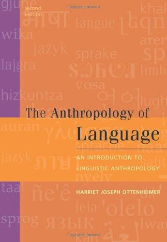 Anthropology Of Language