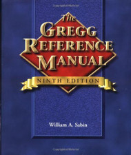 The Gregg Reference Manual by William Sabin