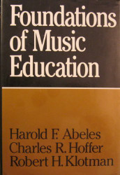 Foundations Of Music Education