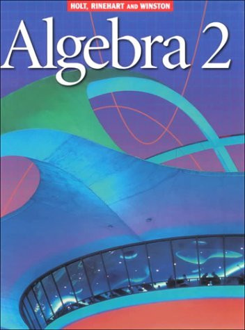 Bestseller: Algebra 2 Holt Mcdougal Answers Pdf