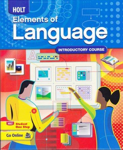 Holt Elements Of Language Grade 6