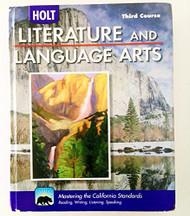 Holt Literature And Language Arts California Grade 9