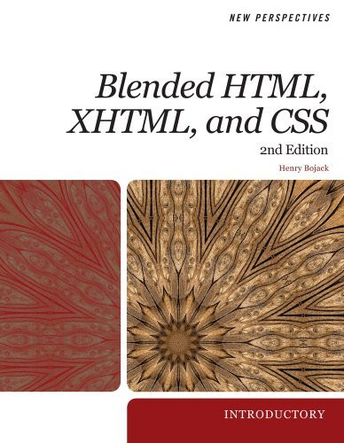 New Perspectives On Blended Html Xhtml And Css