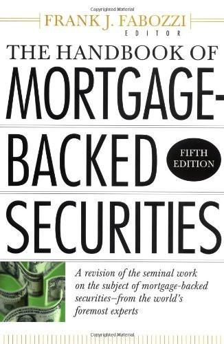 Mortgage Backed Securities Handbook