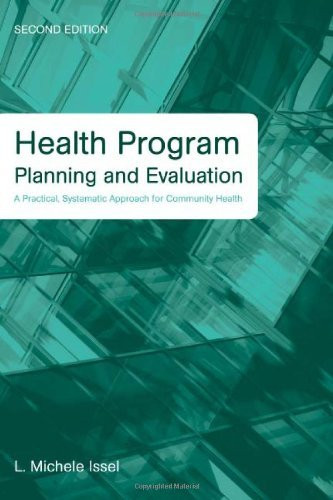 Health Program Planning And Evaluation
