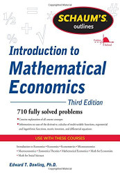 Schaum's Outline Of Introduction To Mathematical Economics