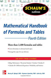 Schaum's Outline Of Mathematical Handbook Of Formulas And Tables