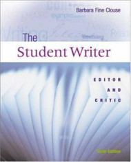The Student Writer by Clouse