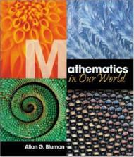 Math In Our World by Allan Bluman & Sobecki