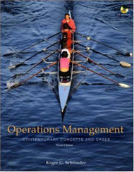 Operations Management In The Supply Chain by Schroederroger