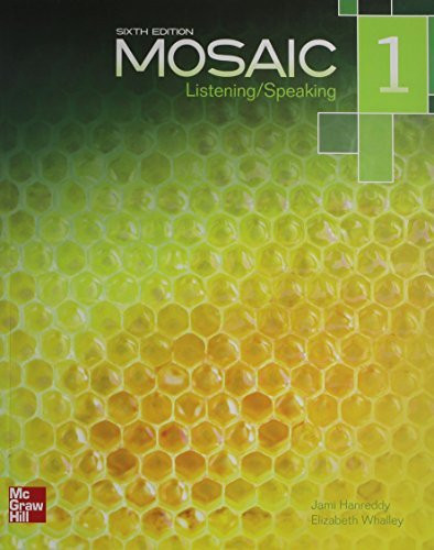 Mosaic Level 1 Listening/Speaking Student Book by Jami