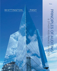 Principles Of Auditing and Other Assurance Services - Ray Whittington