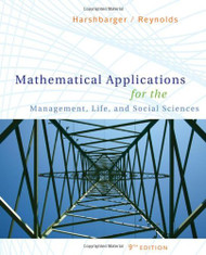 Mathematical Applications For The Management Life And Social Sciences