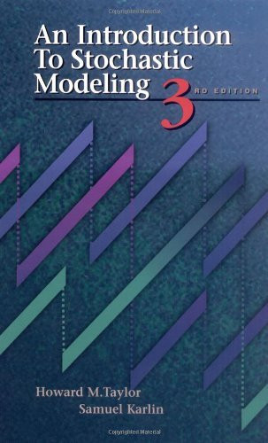 Introduction To Stochastic Modeling