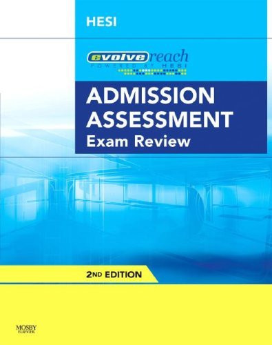 Evolve Reach Admission Assessment Exam Review