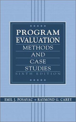 Program Evaluation by Emil Posavac