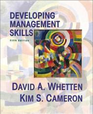 Developing Management Skills by David Whetten