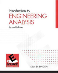 Introduction To Engineering Analysis by Kirk Hagen