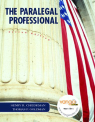 The Paralegal Professional by Henry Cheeseman / Goldman