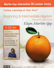 Beginning And Intermediate Algebra CD Lecture Series by Elayn Martin-Gay