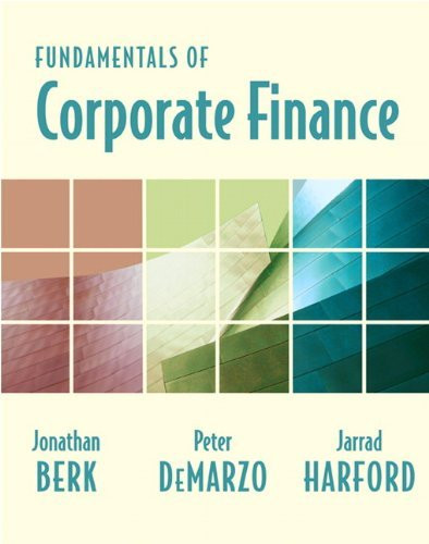 Fundamentals Of Corporate Finance