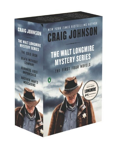 Walt Longmire Mystery Series Boxed Set Volumes 1-4