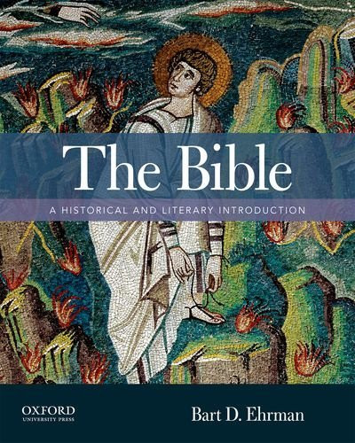 Bible A Historical And Literary Introduction
