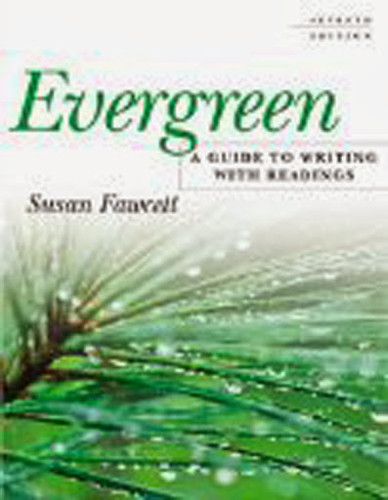 Evergreen A Guide To Writing With Readings
