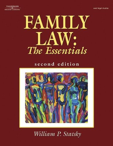 Family Law The Essentials