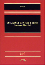 Insurance Law And Policy