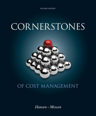 Cornerstones of Cost Management  by Don R Hansen