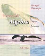 Intermediate Algebra -  Marvin Bittinger